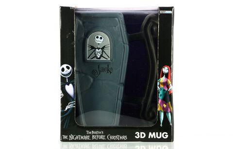 Mug - L'Étrange Noël de Monsieur Jack - Cercueil 3D
