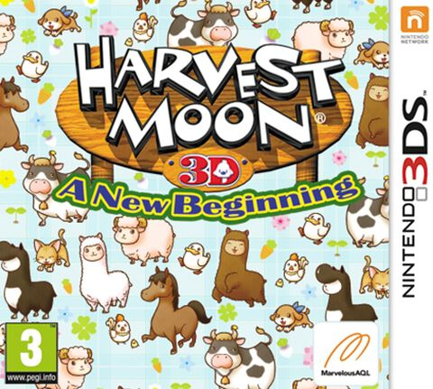 Harvest Moon : A New Beginning