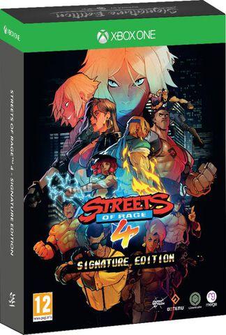 Streets Of Rage 4 Signature Edition (exclusivité Micromania)