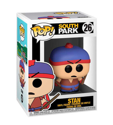 Figurine Funko Pop! N°26 - South Park - Shadow Hachi Stan
