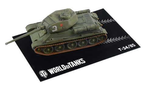 Maquette - World Of Tanks - 1:72 Easy To Build T 34/85