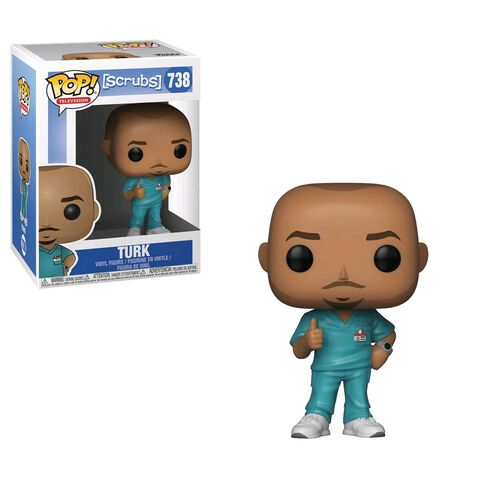 Figurine Funko Pop! N°738 - Scrubs - Turk