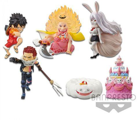 Figurine Wcf - One Piece - World Collectable Figure - Hallcake Island 3