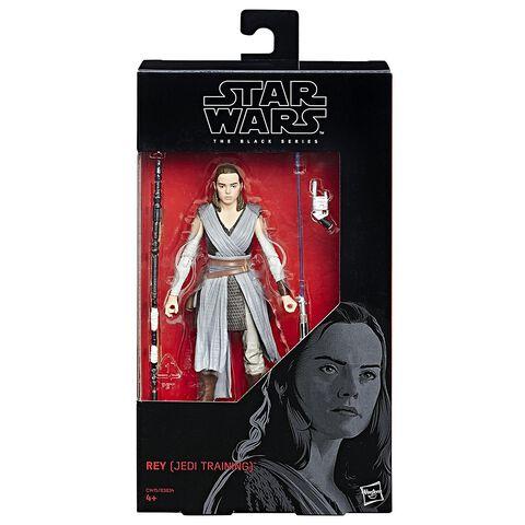 Figurine - Star Wars - Black Series Rey 15 cm