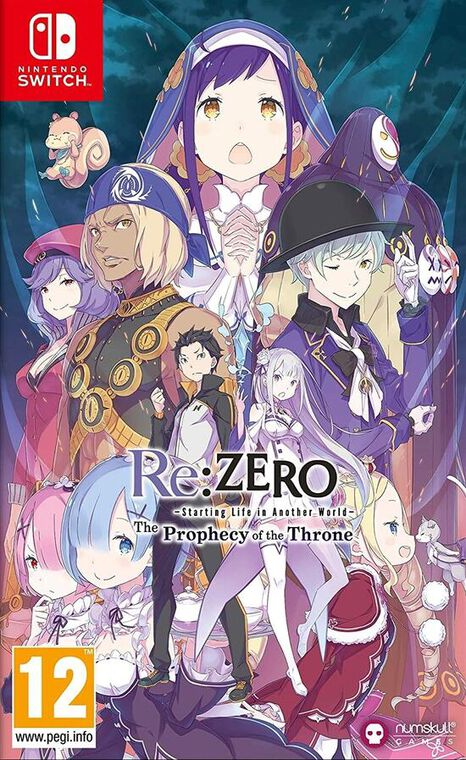 Re-zero The Prophecy Of The Throne Badge Edition