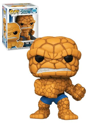 Figurine Funko Pop! N°560 - Les Quatre Fantastiques - The Thing