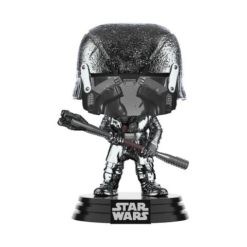 Figurine Funko Pop! N°332 - Star Wars 9 - Chevalier De Ren War Club Chromé