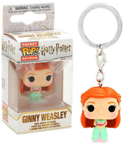 Porte-cles - Harry Potter - Pop Ginny (bal De Noël)