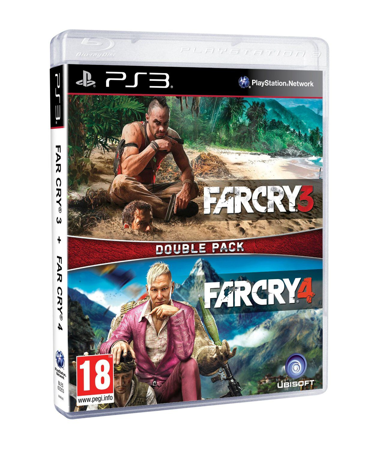 Compilation Far Cry 3 + Far Cry 4 PS3