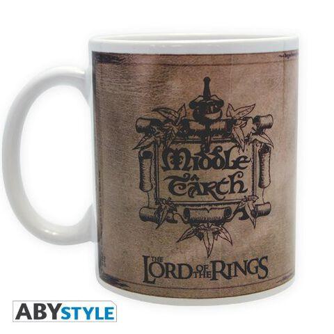 Mug - Le Seigneur des Anneaux - Carte - 320 ml
