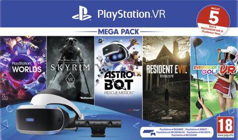 Casque Playstation Vr Mk4 Mega Pack 2 - 5 Jeux