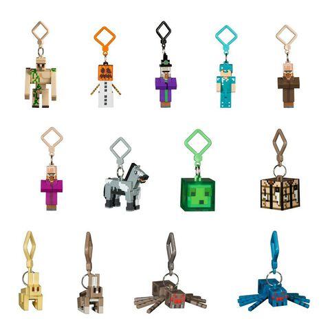 Porte-clef - Minecraft - Assortiment Série 3