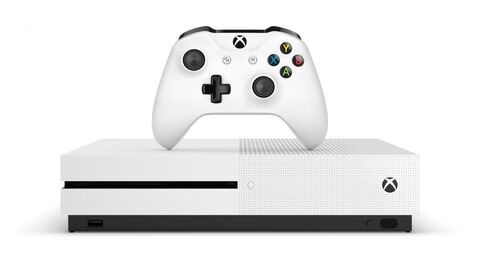 Pack Xbox One S 1to Blanche + Fortnite (téléchargement)
