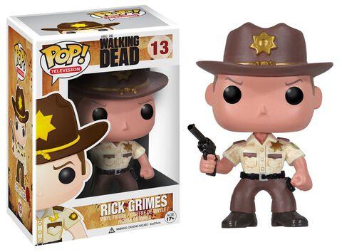 Figurine Funko Pop! N°13 - The Walking Dead - Shérif Rick Grimes