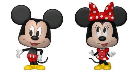 Figurine Vynl - Disney - Twin Pack Mickey et Minnie