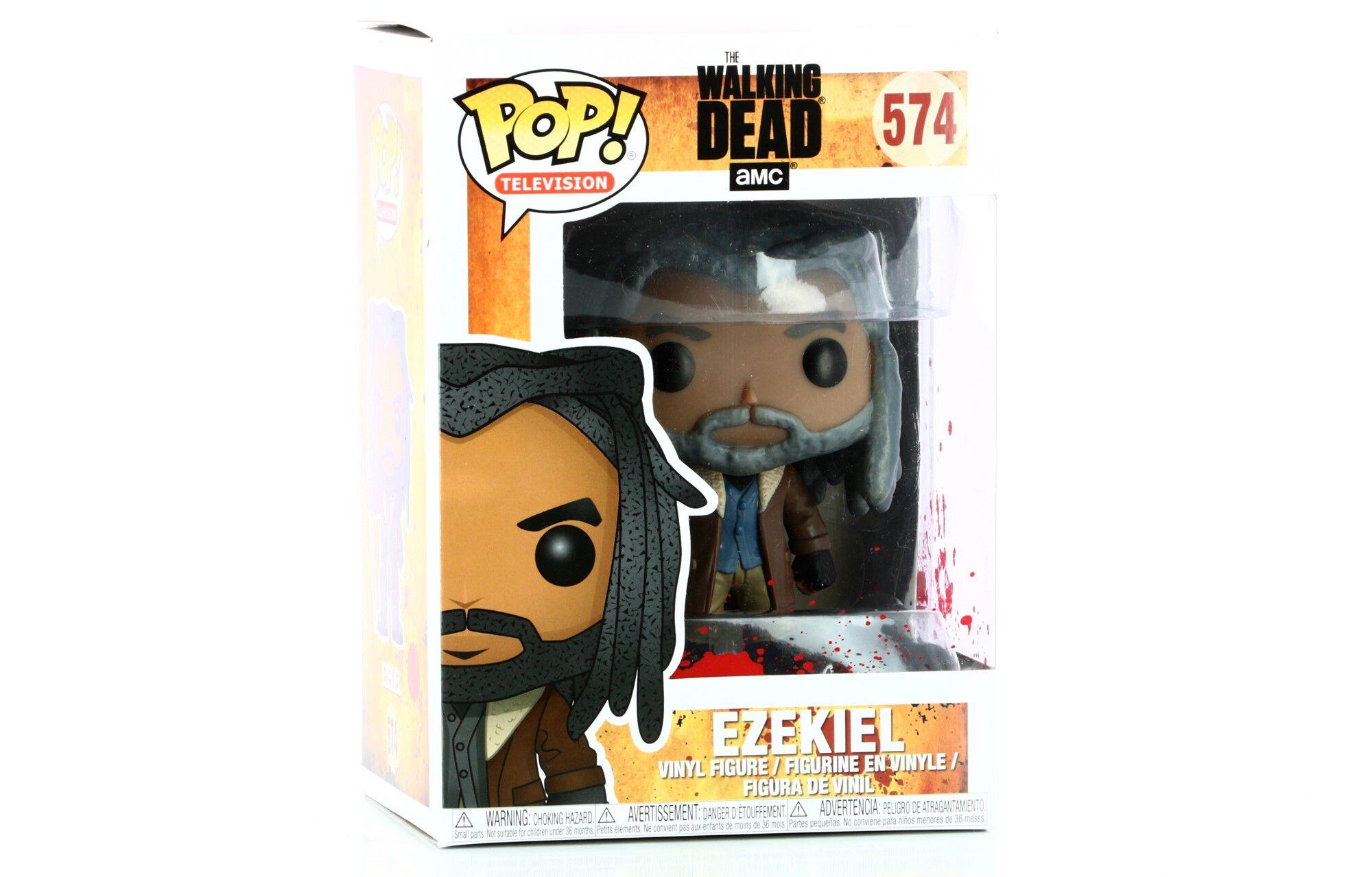 Figurine  FUNKO POP Neuf The Walking Dead Boîte Ezekiel