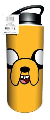 Gourde - Adventure Time - Jake Et Finn 700ml Aluminium