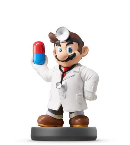 Figurine Amiibo N°42 Smash Dr Mario