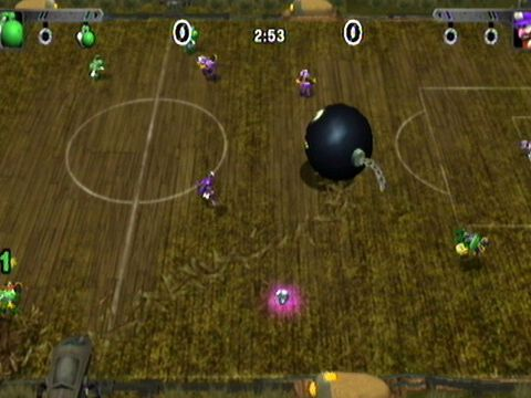 Mario Strikers, Charged Football