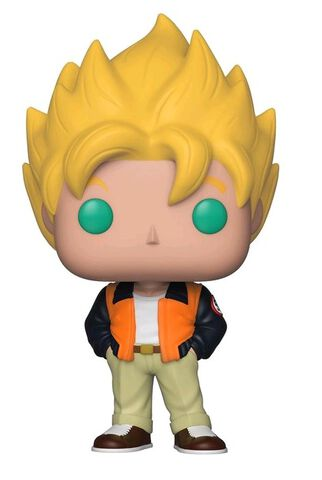 Figurine Funko Pop! N°527 - Dragon Ball Z - S5 Goku (Quotidien)