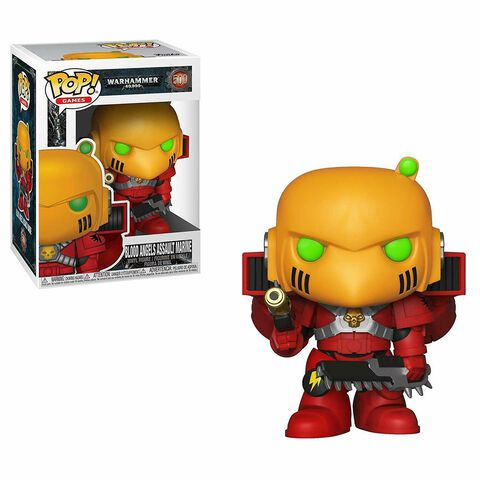 Figurine Funko Pop! N°500 - Warhammer 40k - Blood Angels Assault Marine