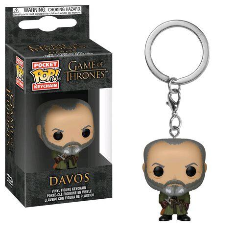 Porte-clés - Game of Thrones - S10 Pop Davos