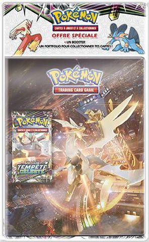 Cahier Range Cartes - Pokemon - Avec Booster Soleil Et Lune 07