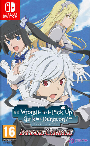 Infinite Combate Is It Wrong To Try To Pick Up Girls In A Dungeon?