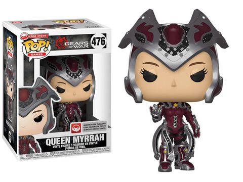 Figurine Funko Pop! N°476 - Gears of War - S3 Queen Myrrah