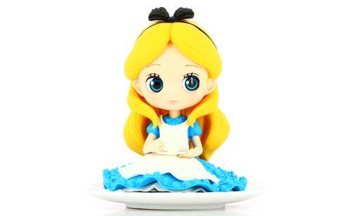 Figurine Q Posket Sugirly - Alice Aux Pays Des Merveilles - Alice