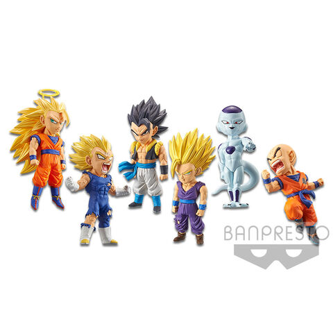 Figurine World Collectable - Dragon Ball Legends - Assortiment 6 Pièces