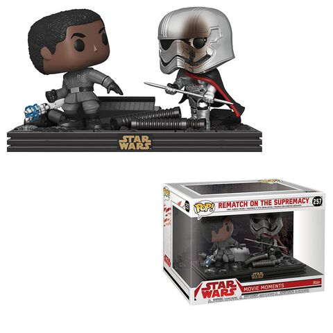 Figurine Funko Pop! Moment N°257 - Star Wars Les Derniers Jedi - Duel