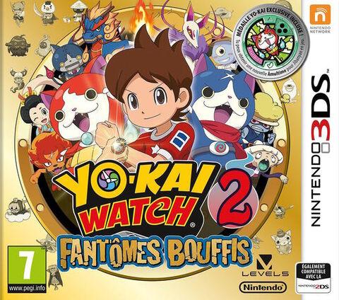 Yo-Kai Watch 2 - Fantômes Bouffis + Médaillon