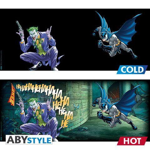 Mug - DC Comics - Heat Change Batman et Joker 460 ml