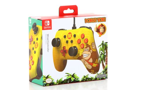 Manette Filaire Nintendo Switch Core Iconic Donkey Kong