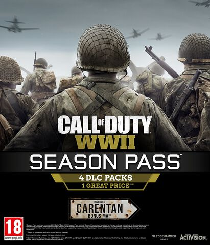 Call Of Duty WWII - Season Pass - Version digitale