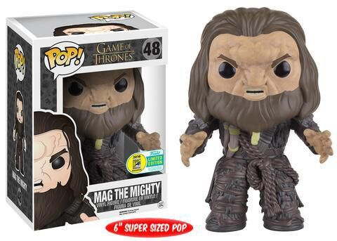 Figurine Funko Pop! N°48 - Game Of Thrones - Mag The Mighty 15 Cm  (exclu Ugt Sd