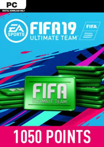 FIFA 19 - DLC - FIFA Ultimate Team - 1050 Pts - Version digitale
