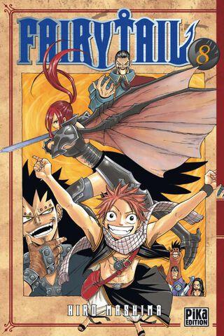Manga - Fairy Tail - Tome 08