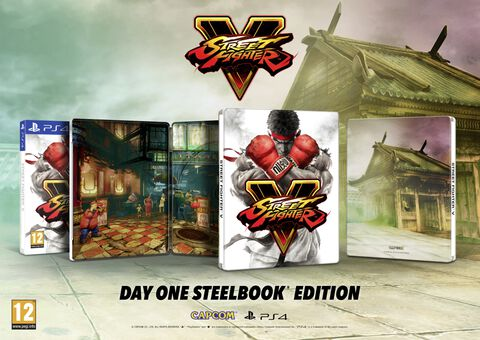 Street Fighter V - Edition Steelbook Exclusivité Micromania