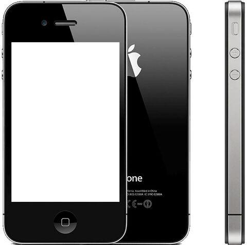 iPhone 4 8Go Noir - Désimlocké - Comme neuf