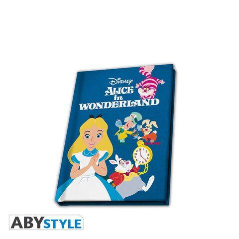 Cahier A6 - Alice au pays des Merveilles - Carnet personnages