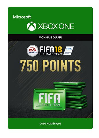 FIFA 18 Ultimate Team 750 Pts Xbox One