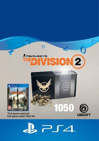 The Division 2 - DLC - 1050 Premium Credits Pack - Version digitale