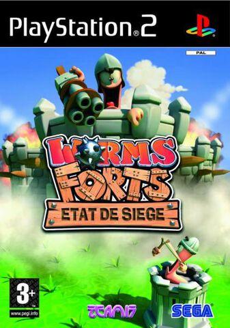 Worms Forts, Etat De Siege