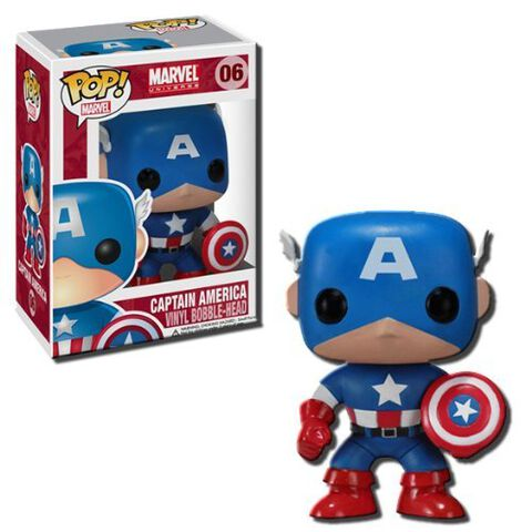 Figurine Funko Pop! N°06 - Captain America - Captain America
