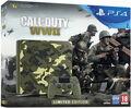Pack Ps4 1to Camo Design+cod Ww II Deluxe+ Qui Es-tu? (voucher)