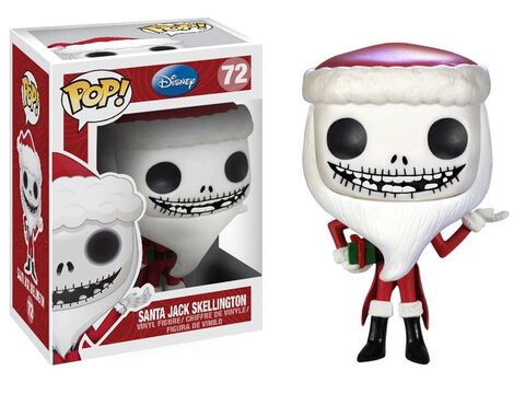 Figurine Funko Pop! N°72 - L'étrange Noël de Monsieur Jack - Jack Skellington Père Noël