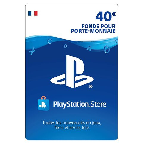 PSN Card 40 euros - PS4 - PS3 - PS Vita