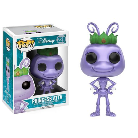 Figurine Funko Pop! N°228 - Disney : A Bug's Life - Princess Atta